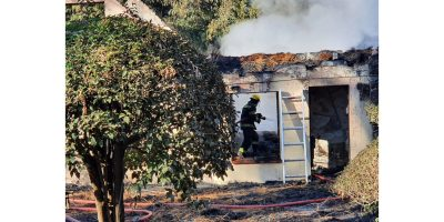 Regatta Road house burns down